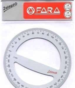 "Goniometri in alluminio ""2WAYS"" - Goniometro diametro cm. 10 180/200°"