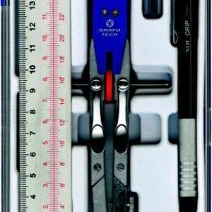 "Set Balaustrone ""NORMO SET"" GRAFOTECH - NORMO SET 01 con portamine da 0,5mm"
